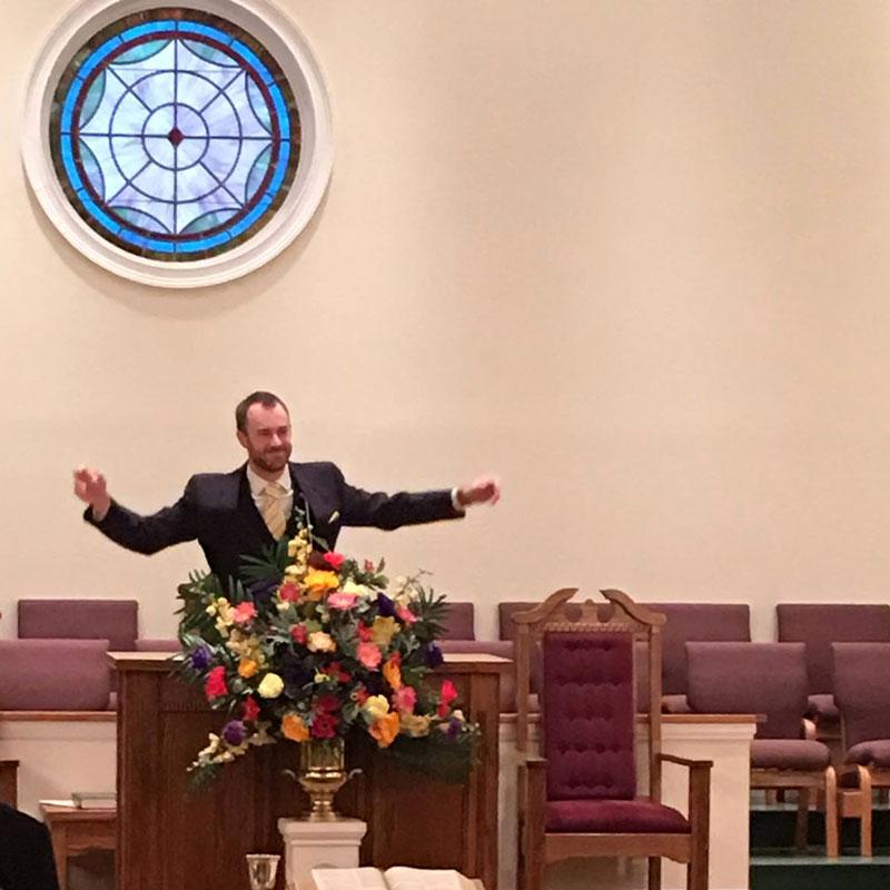 Pastor James Norris
